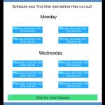 online-scheduling