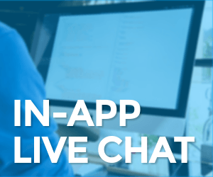 IN APP LIVE CHAT | RainMaker Membership Software