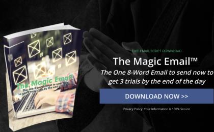 Magic Email for Martial Arts School Instructors
