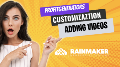 How to Add a Video to ProfitGenerators
